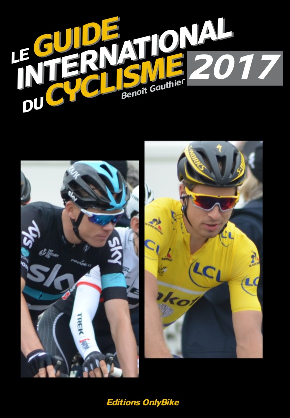 Couverture Guide International du Cyclisme 2017