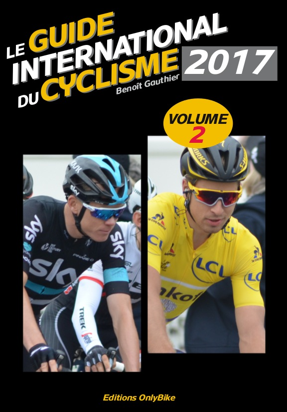 Couverture Guide International du Cyclisme 2017 (volume 2)