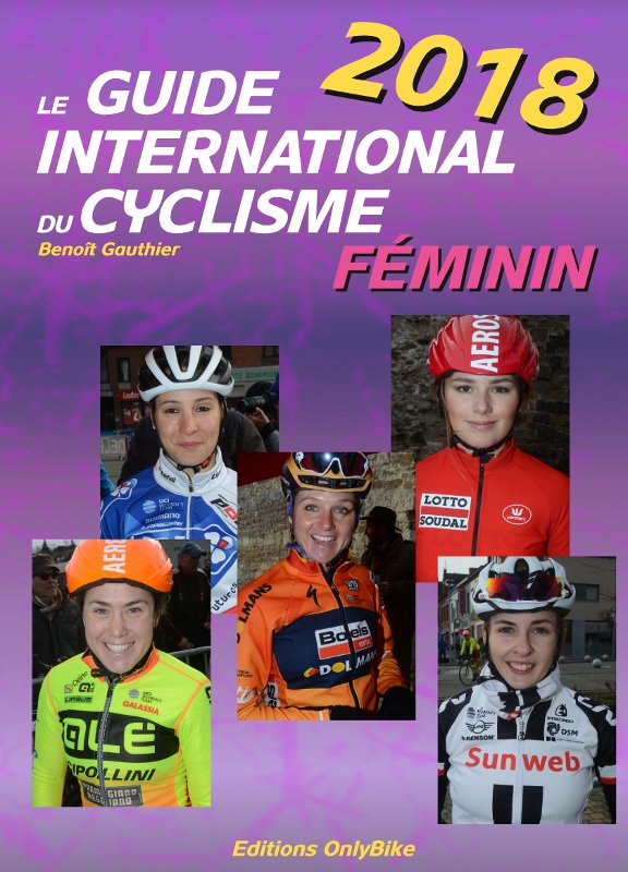Couverture Guide International du Cyclisme Féminin 2018
