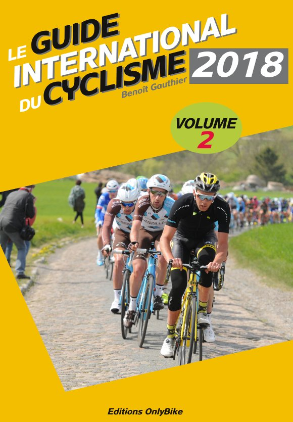Couverture Guide International du Cyclisme 2018 (vol. 2)