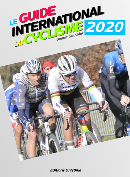 Couverture Guide International du Cyclisme 2020