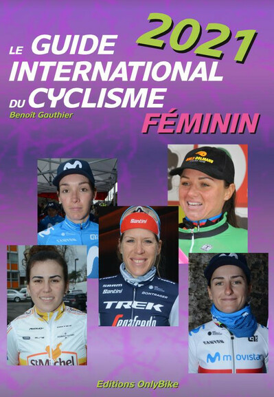 Couverture Guide International du Cyclisme Féminin 2021
